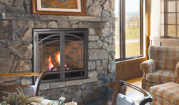 The Dv36 Gas Fireplace