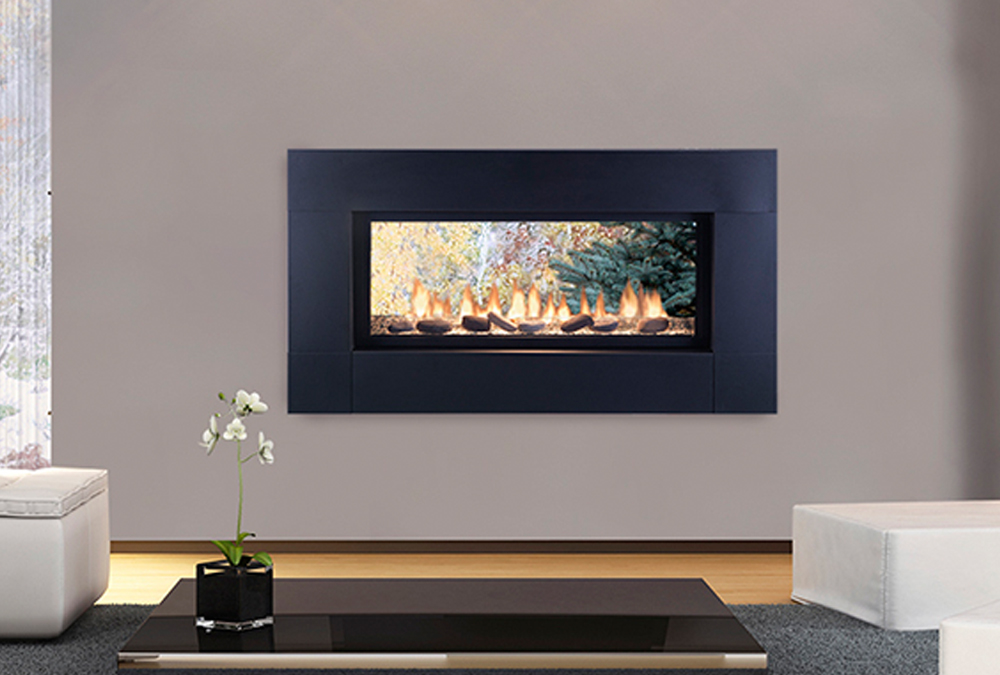 clear majestic electric view kstdv system marquis thru see through media vent catalog fireplace direct