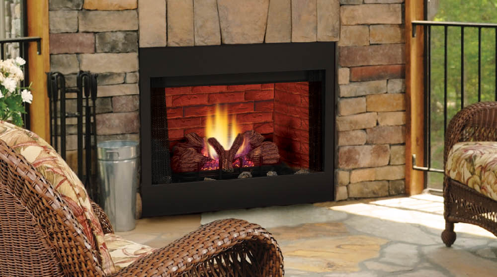 BBV Series B Vent Gas Fireplace