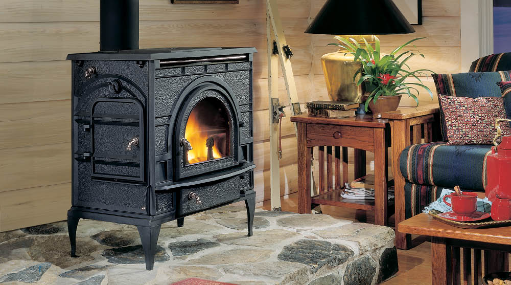 These DutchWest wood stoves offer classic