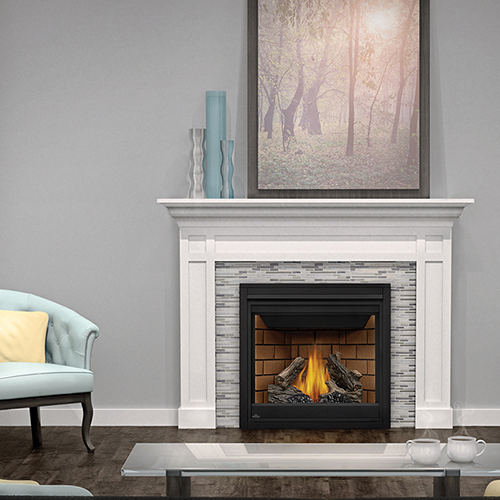 Direct Vent Fireplace Ascent X 36 Gx36 Dunrite