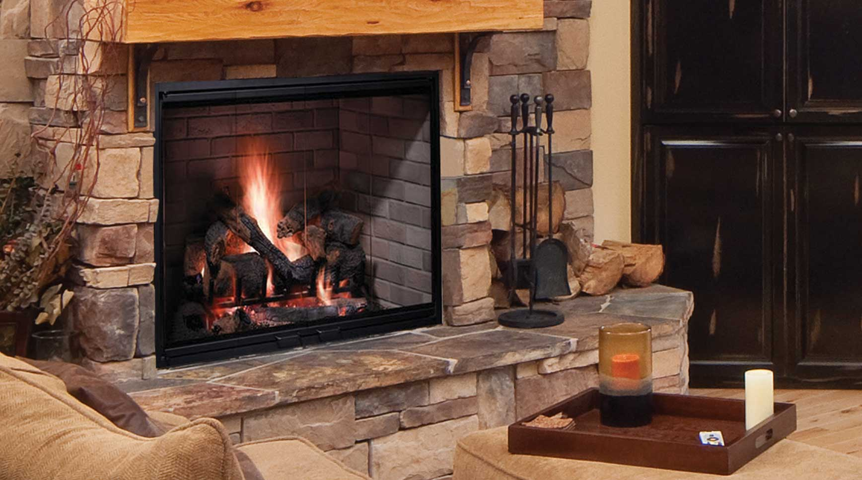 Biltmore Wood Burning Fireplace
