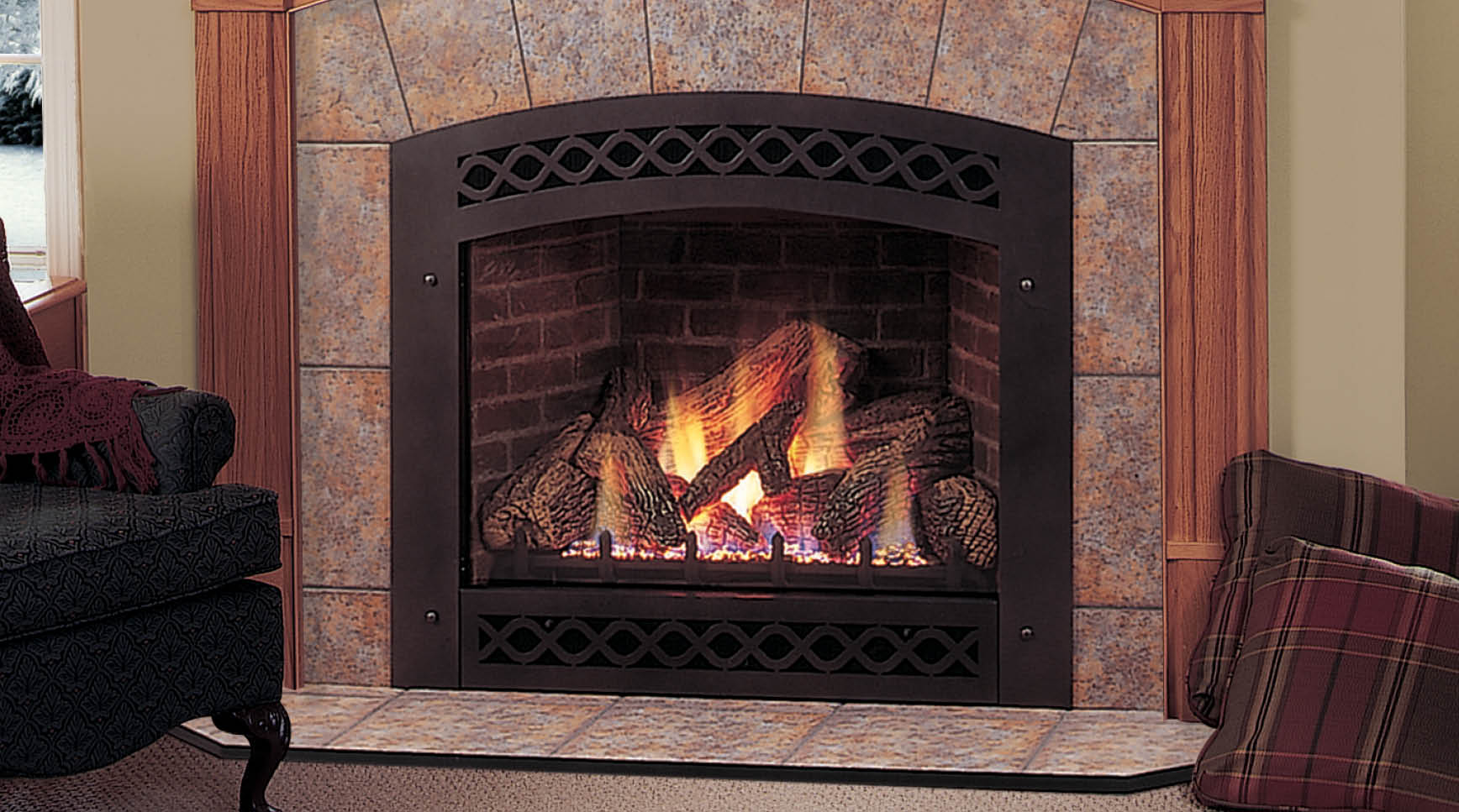 Lexington Direct Vent Gas Fireplace