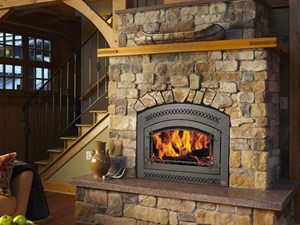 The Catalytic 36 Elite Wood Fireplace